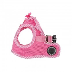 Puppia Vivien | Harnais veste confort pour chien | Vichy rose