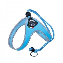 Tre Ponti Classico   Harnais pour petit chien et chat confortable avec cordon ajustable   Rouge