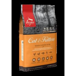 ORIJEN Cat & Kitten | Croquettes pour chat et chaton | Sans céréales