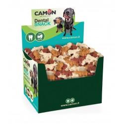 Camon | Friandises végétales pour chien - Saveurs coco, papaye ou fumé | 7 cm | 90 pièces