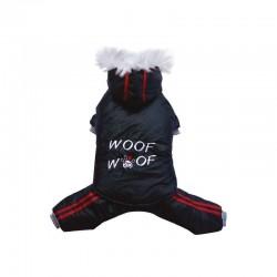Doggy Dolly   Combinaison imperméable, capuche, blouson et pantalon séparables   Noir