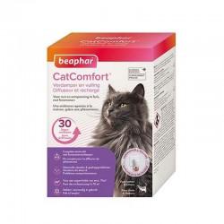 Beaphar CatComfort   Diffuseur calmant aux phéromones chat + recharge 48 ml