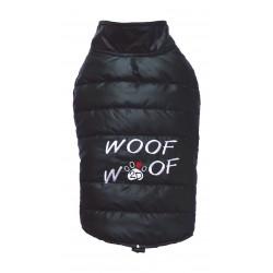 Doggy Dolly Woof   Doudoune pour chien matelassée   Noir