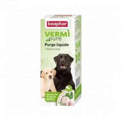 Beaphar VermiPure | Solution 50 ml purge aux plantes pour chiot et chien