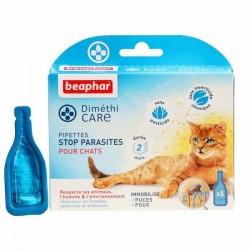 Beaphar DiméthiCARE   6 pipettes antiparasitaire naturelles pour chat
