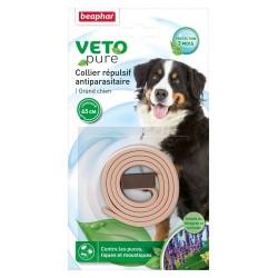 Beaphar VETOpure | Collier antiparasitaire grand chien | 65 cm
