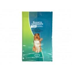 Camon   Lot de 6 gants de nettoyage pour chien emballé individuellement