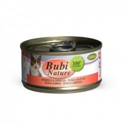 Bubimex | Bubi nature pâtée pour chat au thon et crevettes | 70 g