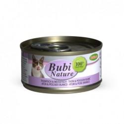 Bubimex | Bubi nature pâtée pour chat au thon et poisson blanc | 70 g