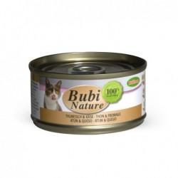 Bubimex | Bubi nature pâtée pour chat au thon et fromage | 70 g