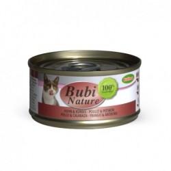 Bubimex | Bubi nature pâtée pour chat au poulet et potiron | 70 g