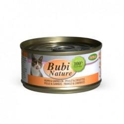 Bubimex | Bubi nature pâtée pour chat au poulet et crevettes | 70 g