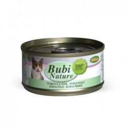 Bubimex | Bubi nature pâtée pour chat au thon et poulet | 70 g