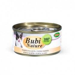 Bubimex | Bubi nature pâtée pour chat au thon et saumon | 70 g