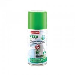 Beaphar VETOpure | Diffuseur insecticide automatique pour habitat | 150 ml