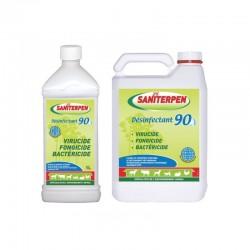 Saniterpen | Désinfectant 90 virucide fongicide bactéricide pour locaux, matériels d'élevage et transport des animaux