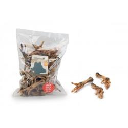 Beeztees | Pattes de poulet séchées | Friandises 100% naturelle pour chiens et chiots | 500g