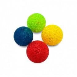Freedog | Balle fluo scintillante avec grelot | Jouet pour chat | 4 cm