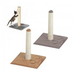 Flamingo | Griffoir pour chat en poteau en sisal de 40 cm et socle en fourrure