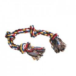 Camon   Jouet en corde 4 nœuds pour jeux de tirage avec son chien