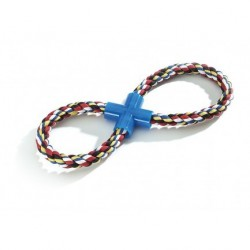 Camon   Haltère en corde forme de huit pour jeu de tirage avec son chien