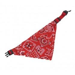 Karlie   Collier bandana pour chien   rouge