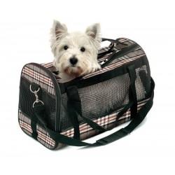 Karlie | Sac de transport pour chien ou chat style Anglais
