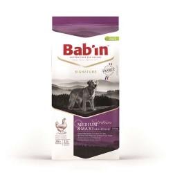 Bab'In | Croquettes pour chiens stérilisés de 11 à 25 kg | Au poulet