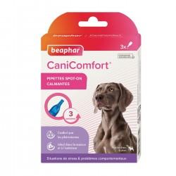 Beaphar | 3 Pipettes calmantes CaniComfort aux phéromones pour chien
