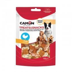 Camon | Friandise pour chien et chiot | Biscuits enrobés de poulet
