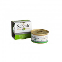Schesir | Pâtée pour chat au filet de poulet naturel | 85g