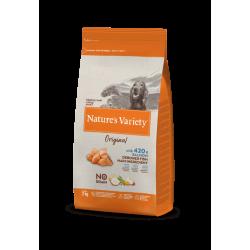 Nature's Variety | Original No Grain Medium Maxi Saumon | Croquettes sans céréales pour chien