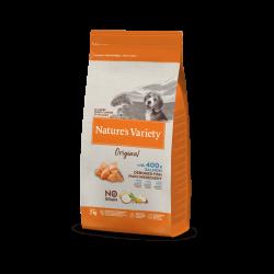 Nature's Variety | Original No Grain Puppy Junior au saumon | Croquettes sans céréales pour chiot
