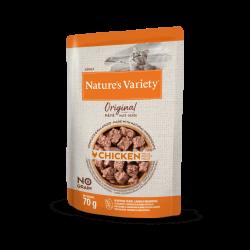 Nature's Variety Original | Pâtée pour chat sans céréales | Au poulet | 70 g