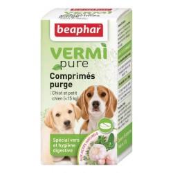 Beaphar VermiPure | 50 Comprimés vermifuge chien - 15 kg aux plantes