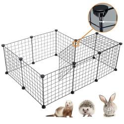 Parc modulable - Set complet pour lapins, rongeurs, chiots