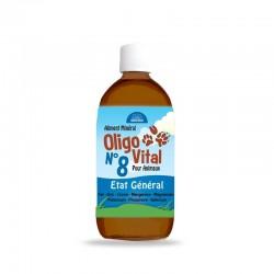 Oligo Vital n°8 | Complément alimentaire stimulant pour animaux | 200ml