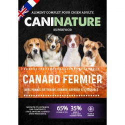 CaniNature | SuperFood | Adulte Canard Fermier 65%