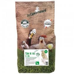 Le Cambrousard | Son de blé à l'ail 4kg sans OGM