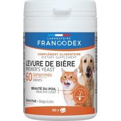 Francodex | Levure de bière pour chiens et chats 60 Comprimés