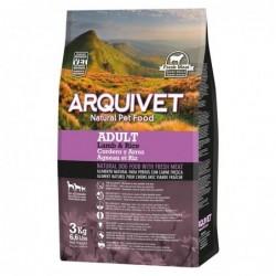 Arquivet | Croquettes pour chiens agneau et riz 3 kg