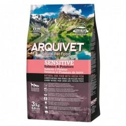 Arquivet | Croquettes pour chiens Sensitive au saumon et pomme de terre 3 kg