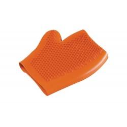 Camon | Gant en latex pour laver et brosser votre chien