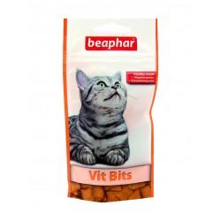 Beaphar Vits Bits | Friandises vitaminées pour chat | 35 g
