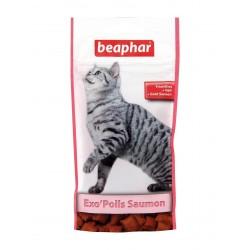 Beaphar Exo'poils | Friandises pour chat anti boules de poils | Malt-Saumon