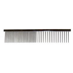 HPP | Peigne métal qualité anglaise pour éliminer les noeuds du pelage de votre animal