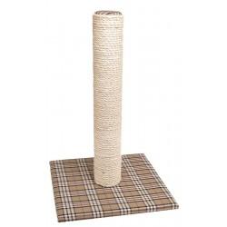 Karlie | Griffoir OXFORD en poteau de 60 cm et base motif tartan