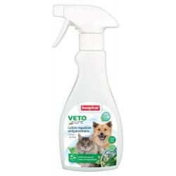 Beaphar VETOpure| Lotion répulsive antiparasitaire chien et chat | 250 ml