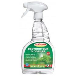 Saniterpen | Destructeur d'odeurs pour animaux de compagnie | Menthe et eucalyptus