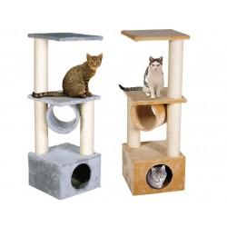 Karlie | Arbre à chat avec griffoirs, niche et hamac
